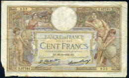 Ref. 473-863 - BIN FRANCE . 1933. 100 FRANCS FRANCE FRANCE. 100 FRANCS  FRANCE FRANCIA - Sin Clasificación