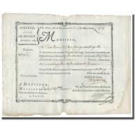 France, Traite, Colonies, Isle De Bourbon, 979 Livres Tournois, 1780, SUP - ...-1889 Tijdens De XIXde In Omloop