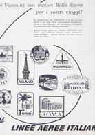 (pagine-pages)PUBBLICITA' LAI   L'europeo1957/606. - Libros, Revistas, Cómics