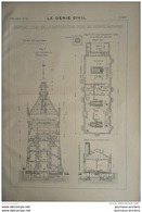 1900 CHATEAU D'EAU DE LA DISTRIBUTION D'EAU DE VIENNE ( AUTRICHE ) - Obras Públicas