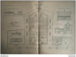 1900 PRISONS DE FRESNES - Obras Públicas