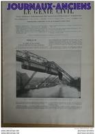 1900 ELBERFELD CHEMIN DE FER SUSPENDU - NAVIGATION AERIENNE - 1850 - 1899