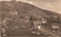 Hünibach Bei Thun : Panorama 1917 - BE Berne
