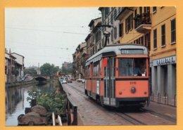 """C'era Una Volta: Il """"tram Dei Navigli"""" ... E La Motrice 5115 (anno 1948) - Tramways"""