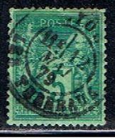 3FRANCE 906 // YVERT 75 I // 1876-78 - 1876-1878 Sage (Type I)
