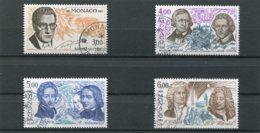 MONACO  N°  1501 A 1504  (Y&T)  (Oblitéré) - Monaco