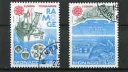 MONACO  N°  1520 ET 1521  (Y&T)  (Oblitéré) - Monaco