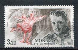 MONACO  N°  1533  (Y&T)  (Oblitéré) - Monaco