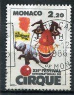 MONACO  N°  1550  (Y&T)  (Oblitéré) - Monaco