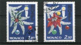 MONACO  N°  1554 Et 1555  (Y&T)  (Oblitéré) - Monaco