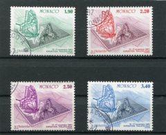 MONACO  N°  1585 A 1588  (Y&T)  (Oblitéré) - Monaco