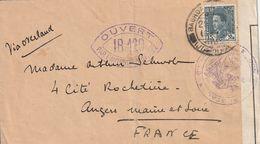 Iraq Lettre Censurée Pour La France 1939 - Iraq