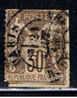 3FRANCE 908 // YVERT 80 // 1876-78 - 1876-1878 Sage (Type I)