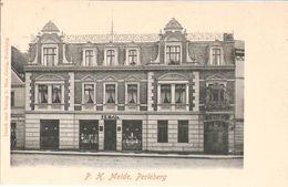 PERLEBERG Prignitz Brandenburg Geschäftshaus P.H. Melde Frontal TOP-Erhaltung Ungelaufen - Perleberg