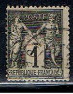 3FRANCE 909 // YVERT 83 // 1876-78 - 1876-1878 Sage (Type I)