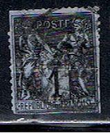 3FRANCE 910 // YVERT 83 B) // 1876-78 - 1876-1878 Sage (Type I)