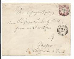 DR U 1 II B - 1 Gr. Brustschild Umschlag V. Bellmannsdorf N. Gospow Verwendet - Ganzsachen