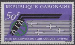 GABON - Anniversaire De La Compagnie Air Afrique - Gabon (1960-...)