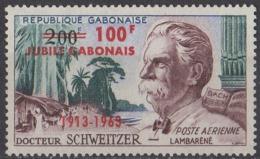 GABON - Cinquantenaire De La Présence Du Dr Schweizer Au Gabon - Gabon (1960-...)