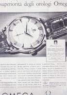(pagine-pages)PUBBLICITA' OMEGA  L'europeo1956/562. - Libros, Revistas, Cómics