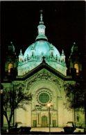 Minnesota St Paul Saint Paul Cathedral At Night - St Paul