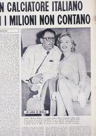 (pagine-pages)MARILYN MONROE  L'europeo1956/562. - Libros, Revistas, Cómics