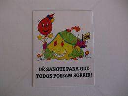 Blood Donors Donneurs De Sang Dadores De Sangue Portugal Portuguese Pocket Calendar 1996 - Kalender