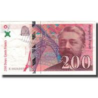 France, 200 Francs, Eiffel, 1995, TTB, Fayette:75.1, KM:159a - 1992-2000 Ultima Gama