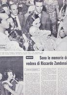 (pagine-pages)LUCIA BOSE'  L'europeo1956/562. - Libros, Revistas, Cómics