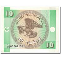 Billet, KYRGYZSTAN, 10 Tyiyn, KM:2, SUP - Kirghizistan