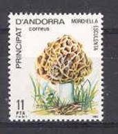 Andorra - 1984, Setas E=181 S=165 (**) - Mushrooms