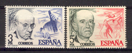 Spain 1976 - Casals Y Falla Ed 2379-80 (**) - 1931-Hoy: 2ª República - ... Juan Carlos I