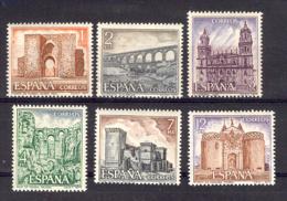 Spain 1977 - Turismo 9a Ed 2417-22 (**) - 1931-Hoy: 2ª República - ... Juan Carlos I