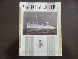 Compagnie Des Messageries Maritimes. Maréchal Joffre. Dépliant. Vues De L'intérieur Du Bateau. - Boten