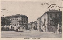 VARESE - VIALE UMBERTO - TRAM - Varese