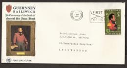 Jersey FDC 1970 -1945-1970 25th Anniversary Of The Liberation - Jersey