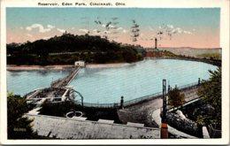 Ohio Cincinnati Eden Park The Reservoir 1922 Kraemer Art - Cincinnati