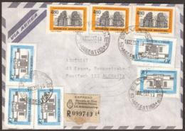 Argentina 1978 With WRONG DATE In The Postmarks, Chachets, Stempel, Sello!!! And  5 (!!) Different Cachets.  The Cachet - Argentinien