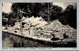 Ohio Cincinnati Zoological Gardens Monkey Island - Cincinnati