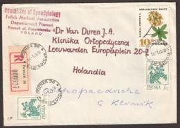 Polska  1975 - Registered Cover To Holland. 'POZNAN 38 EXSPEDYCJA' - 1944-.... Republic