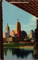 Ohio Cincinnati Skyline 1942 Kraemer Art - Cincinnati