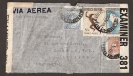 Argentina Cover/letter 21 May 1942 To London - 2x Opened By Censor (!) - Argentinien