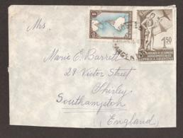 Argentina Cover/letter 1955 To England. 2 Cachets/postmarks/stamps: Argentina + Southend-Essex - Argentinien