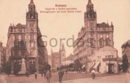Hungary - Budapest - Klotild Palais - Monument - Hungary