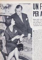 (pagine-pages)LAURENCE OLIVIER E VIVIEN LEIGH  L'europeo1956/562. - Libros, Revistas, Cómics