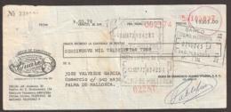 Espagne, Hellin - Fabrica De Embutidos - Bank Paper. - Bills Of Exchange