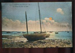 17 - Chatelaillon : La Plage Au Clair De Lune (Scan Recto Verso) - Daguin Chatelaillon Plage De Sécurité - Châtelaillon-Plage