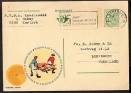 Belgique - Briefkaart 1971 Fromage Belge - Belgische Kaas - Belgischer Käse - 25 Jaar Cultureel Akkoord België-Nederland - Stamped Stationery