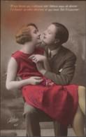 Lot - CPA FANTAISIE ( Série Complète  ) - Couple - Duo - Amoureux - Amour - Flirt - Amitiés - Tarjetas De Fantasía