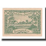 Billet, Autriche, Langacker Bei Perg O.Ö. Gemeinde, 30 Heller, Texte 1, 1920 - Austria